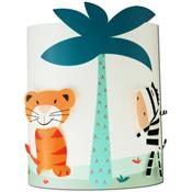 Applique murale : Jungle bleue