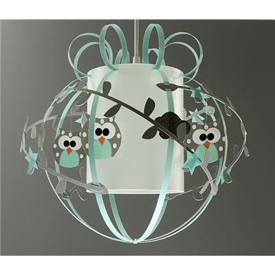 Suspension hibou - Mint